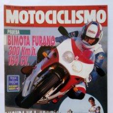 Coches y Motocicletas: MOTOCICLISMO Nº 1251 AÑO 1992 TÉCNICAS PILOTAJE, BIMOTA FURANO, HONDA NS-1, TRAIL - PERFECTO ESTADO. Lote 269443538