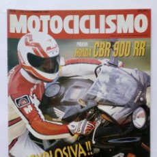 Coches y Motocicletas: MOTOCICLISMO Nº 1253 AÑO 1992 TÉCNICAS PILOTAJE, HONDA CBR 900/600, CROSS, TRIAL - PERFECTO ESTADO. Lote 269444423