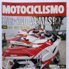 Coches y Motocicletas: MOTOCICLISMO Nº 1256 AÑO 1992 TÉCNICAS PILOTAJE, BIMOTA, KAWA ZEPHYR 550, SUZUKI - PERFECTO ESTADO. Lote 269445648