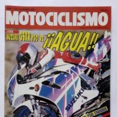 Coches y Motocicletas: MOTOCICLISMO Nº 1257 AÑO 1992 TÉCNICAS PILOTAJE, SUZUKI GSXR 750, ALFER 250 ENDURO - PERFECTO ESTADO. Lote 269445998