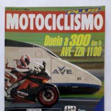 Coches y Motocicletas: MOTOCICLISMO Nº 1263 PLUS 194 PÁGINAS AÑO 1992 DUELO AVE/ KAWASAKI ZZR 1100, TRAIL - PERFECTO ESTADO. Lote 269448988