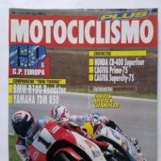 Coches y Motocicletas: MOTOCICLISMO Nº 1267 PLUS AÑO 1992 178 PÁGINAS BMW R100/YAMAHA TDM 850, HONDA CB400 -PERFECTO ESTADO. Lote 269949063