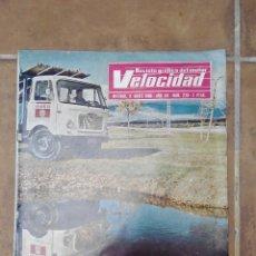 Coches y Motocicletas: VELOCIDAD Nº 239 AÑO 1966 - MOTOCARRO ROA - FIAT SEAT 124 - AUTOBUS SAVA AUSTIN A-404-A. Lote 270108398