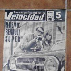 Coches y Motocicletas: REVISTA VELOCIDAD Nº 333 AÑO 1968 - NUEVO RENAULT 4 SUPER - RALLYE DE MONTECARLO. Lote 270110743