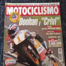 Coches y Motocicletas: MOTOCICLISMO Nº 1415 AÑO 1995 APRILIA PEGASO 650 HONDA SHADOW 1100 KAWASAKI VULCAN 800 SUZUKI. Lote 278621848
