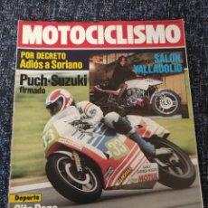 Coches y Motocicletas: MOTOCICLISMO Nº 847 - ABRIL 1984 SALON VALLADILID. Lote 278623118