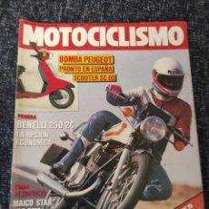 Coches y Motocicletas: MOTOCICLISMO Nº 941 FEBRERO DE 1986 - PRUEBA BENELLI 250 2C. Lote 278624088