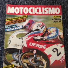Coches y Motocicletas: MOTOCICLISMO Nº 968 AÑO 1986. PRUEBA: GILERA NRG 250. HONDA FTR 350. JAWA 350.. Lote 278624663