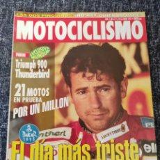 Coches y Motocicletas: MOTOCICLISMO Nº 1404 AÑO 1995. PRUEBA: TRIUMPH 900 THUNDERBIRD. Lote 278624983