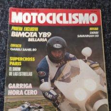 Coches y Motocicletas: MOTOCICLISMO Nº 1138 AÑO 1989. PRUEBA: BIMOTA BELLARIA. GARELLI SAHEL 80.. Lote 278625078