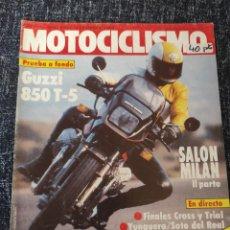 Coches y Motocicletas: MOTOCICLISMO Nº 830 AÑO 1983. PRUEBA: GUZZI T-5. PRUEBA: TRIAL 200.. Lote 278625158