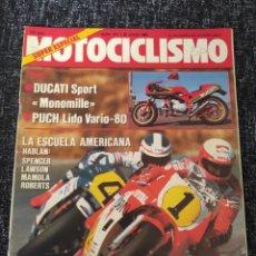 Coches y Motocicletas: MOTOCICLISMO Nº Nº 911 AÑO 1985 PRUEBA PUCH SUZUKI LIDO VARIO 75. Lote 278625438