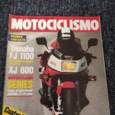 Coches y Motocicletas: MOTOCICLISMO Nº 857 - JUN 1984 - YAMAHA FJ 1100 / DERBI RC 125 250 / RIEJU TT 80 PROTO / GP YUGOSLAV. Lote 279460508