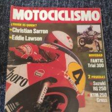 Coches y Motocicletas: MOTOCICLISMO Nº 866 - AGO 1984 - SUZUKI RG 250 GAMMA / FANTIC 300 TRIAL / KTM 250 CROSS KR / CROSS. Lote 279460583