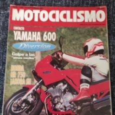 Coches y Motocicletas: MOTOCICLISMO N° 1230 AÑO 1991 YAMAHA 600 DIVERSION, HONDA NR 750, BANDIT 400 V, KATANA 250. Lote 279460978