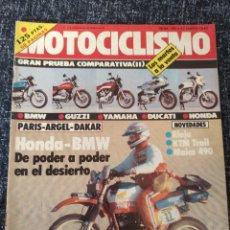 Coches y Motocicletas: MOTOCICLISMO Nº 785 - ENE 1983 - GUZZI V 65 / BMW R 65 / DUCATI PANTAH 500 SL / KTM 500 SCRAMBLER. Lote 279461908