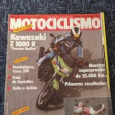 Coches y Motocicletas: MOTOCICLISMO Nº 796 16 ABRIL 1983 KAWASAKI Z 1000 R YAMAHA RD 350 LC. Lote 279462823