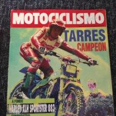 Coches y Motocicletas: MOTOCICLISMO Nº 1228 AÑO 1991. PRUEBA: HARLEY DAVIDSON SPORTSTER. COMPARATIVA: HONDA CB 1. Lote 279464768