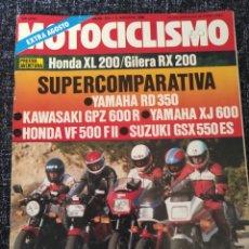 Coches y Motocicletas: MOTOCICLISMO Nº 913 AÑO 1985. PRUEBA: BMW 500 SIDECAR. RACING: HONDA 250 TURBO GP. COMPARATIVA. Lote 279464843