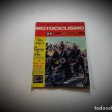 Coches y Motocicletas: MOTOCICLISMO -DICIEMBRE 1966 - Nº 12. Lote 283134758
