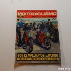 Coches y Motocicletas: MOTOCICLISMO - SEPTIEMBRE 1969 -POSTER A.NIETO -MUY DIFICIL. Lote 283137448