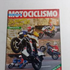 Coches y Motocicletas: REVISTA MOTOCICLISMO Nº 982 AÑO 1986. Lote 283726378