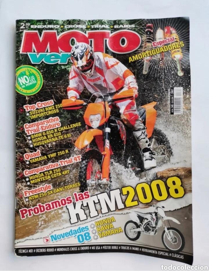 REVISTA MOTO VERDE N 348 2007 KTM ESPECIAL AMORTIGUADORES (Coches y Motocicletas - Revistas de Motos y Motocicletas)