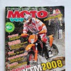 Coches y Motocicletas: REVISTA MOTO VERDE N 348 2007 KTM ESPECIAL AMORTIGUADORES. Lote 287613193