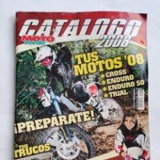 Coches y Motocicletas: CATÁLOGO MOTO VERDE 2008 N 7 CROSS ENDURO MOTOS TRUCOS EQUIPO. Lote 287613288