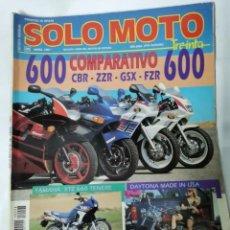 Coches y Motocicletas: REVISTA SÓLO MOTO ABRIL 1991. Lote 287614098