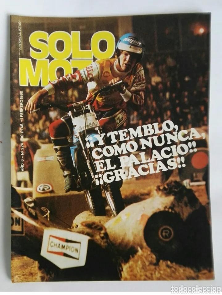 REVISTA SOLO MOTO FEBRERO 1980 (Coches y Motocicletas - Revistas de Motos y Motocicletas)