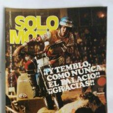 Coches y Motocicletas: REVISTA SOLO MOTO FEBRERO 1980. Lote 287614378