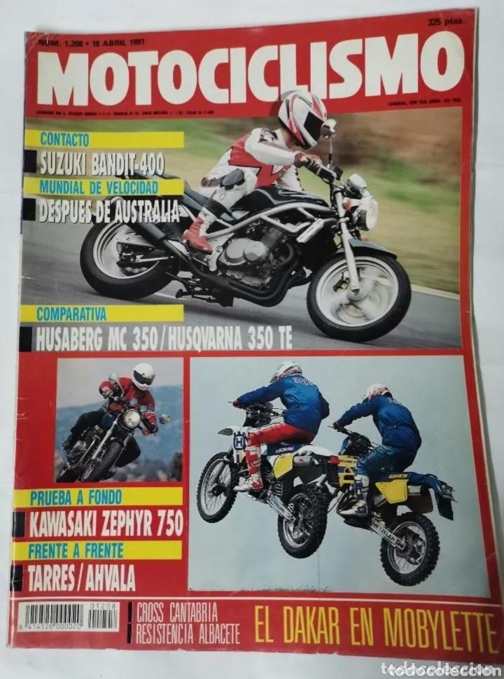 REVISTA MOTOCICLISMO ABRIL 1991 (Coches y Motocicletas - Revistas de Motos y Motocicletas)