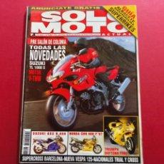 Coches y Motocicletas: SOLO MOTO -Nº 1060 AÑO 1996. Lote 288012258