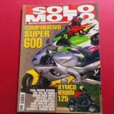 Coches y Motocicletas: SOLO MOTO -Nº 1029 AÑO 1996. Lote 288012358