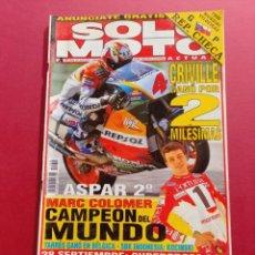 Coches y Motocicletas: SOLO MOTO -Nº 1054 AÑO 1996. Lote 288012753