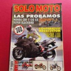 Coches y Motocicletas: SOLO MOTO -Nº 163 AÑO 1996. Lote 288012883