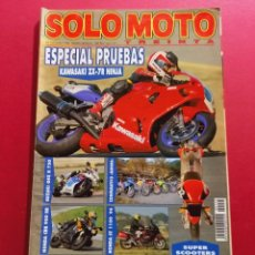 Coches y Motocicletas: SOLO MOTO -Nº 155 AÑO 1996. Lote 288012958