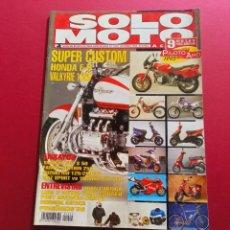 Coches y Motocicletas: SOLO MOTO -Nº 1024 AÑO 1996. Lote 288013058