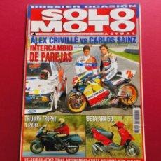 Coches y Motocicletas: SOLO MOTO -Nº 1066 AÑO 1996. Lote 288013238