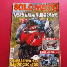 Coches y Motocicletas: SOLO MOTO -Nº 157 AÑO 1996. Lote 288013328