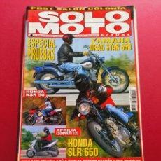 Coches y Motocicletas: SOLO MOTO -Nº 1062 AÑO 1996. Lote 288013453