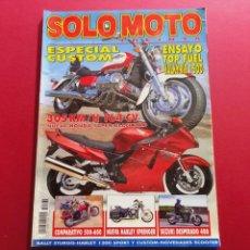 Coches y Motocicletas: SOLO MOTO -Nº 162 AÑO 1996. Lote 288013953