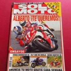 Coches y Motocicletas: SOLO MOTO -Nº 1044 AÑO 1996. Lote 288014088