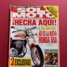 Coches y Motocicletas: SOLO MOTO -Nº 1046 AÑO 1996. Lote 288014978