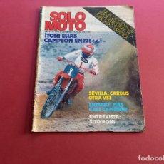 Coches y Motocicletas: SOLO MOTO -Nº 351 AÑO 1982. Lote 288467628