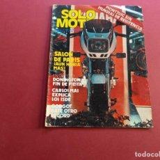 Coches y Motocicletas: SOLO MOTO -Nº 350 AÑO 1982. Lote 288467688