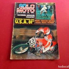 Coches y Motocicletas: SOLO MOTO -Nº 318 AÑO 1982. Lote 288467808