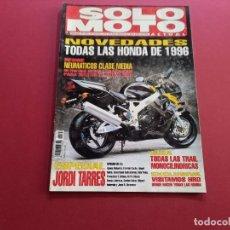 Coches y Motocicletas: SOLO MOTO Nº 1003 AÑO 1995. Lote 288866803