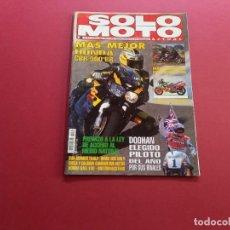 Coches y Motocicletas: SOLO MOTO Nº 1014 AÑO 1995. Lote 288866888